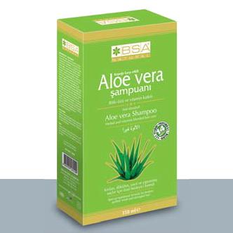 Bsa Natural Aloe Vera Şampuanı