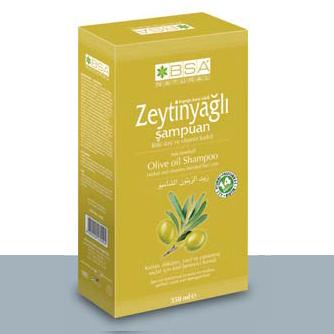 Bsa Natural Zeytinyağlı Şampuan