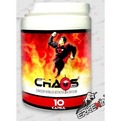 Chaos-man Çakşır Otlu Epimediumlu Bitkisel Karışım 10 Kapsül