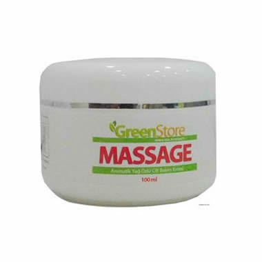 GreenStore Massage Krem