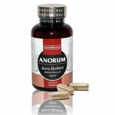 Herbalfarma Anorum (Kara Helileli Bitkisel Karışım) Kapsül