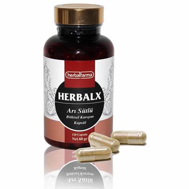 Herbalfarma Herbalx (Arı Sütlü Bitkisel Karışım) Kapsül