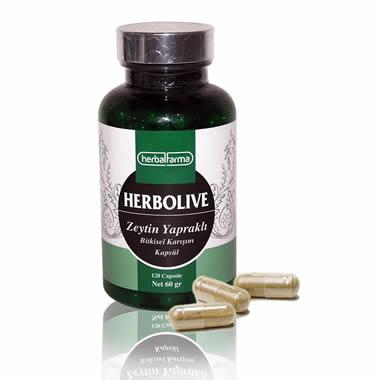 Herbalfarma Herbolive (Zeytin Yapraklı Bitkisel Karışım) Kapsül