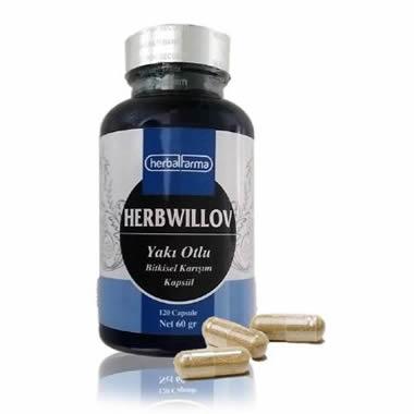 Herbalfarma Herbwillov (Yakı Otlu Köklü Bitkisel Karışım) Kapsül