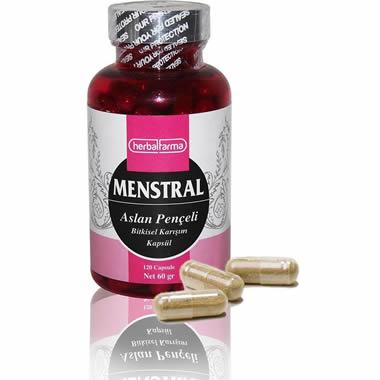 Herbalfarma Menstral (Aslan Pençeli Bitkisel Karışım) Kapsül
