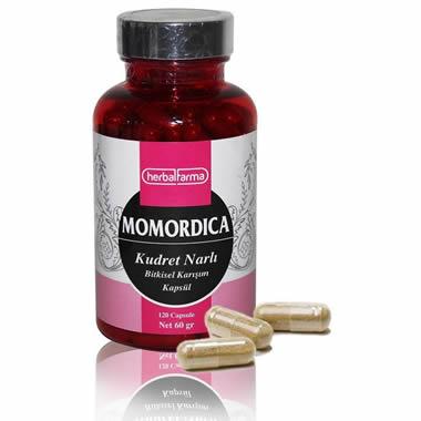 Herbalfarma Momordica (Kudret Narlı Bitkisel Karışım) Kapsül