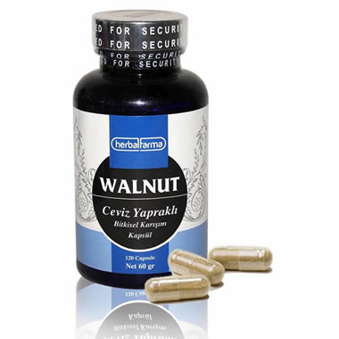 Herbalfarma Walnut (Ceviz Yapraklı Bitkisel Karışım) Kapsül