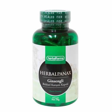 Herbalfarma HerbalPanax (Ginsengli Bitkisel Karışım) Kapsül
