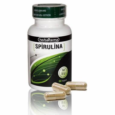 Herbalfarma Spiruline Kapsül