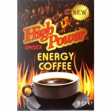 High Power Energy Coffee Woman