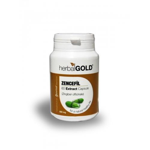 Herbalgold Zencefil Ekstract Kapsül